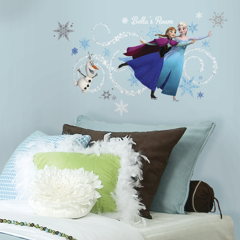 disney frozen headboard wall decals rosenberryrooms com