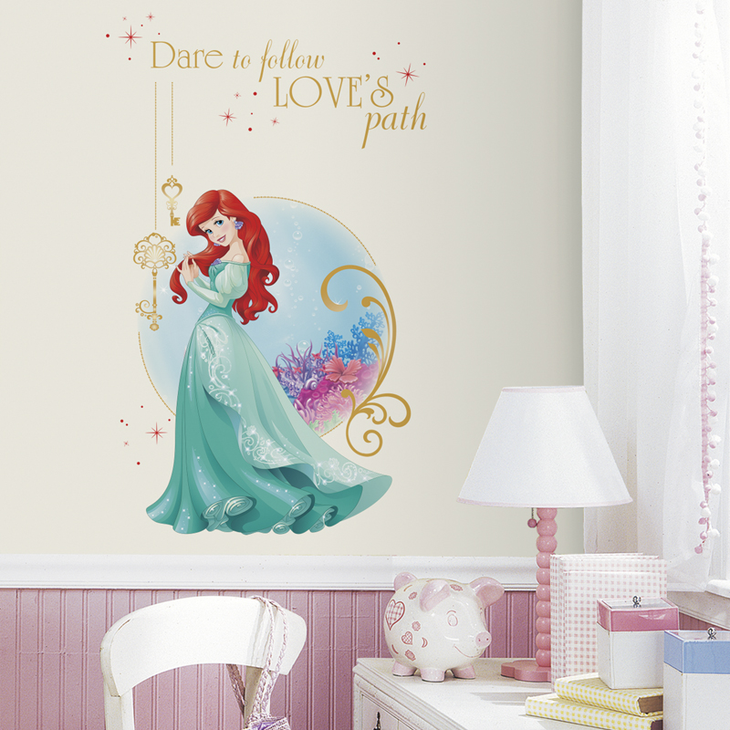 disney princess ariel giant wall decals