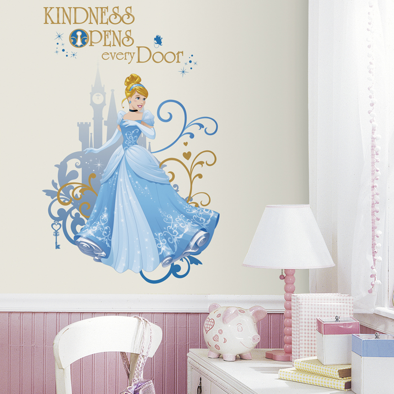 disney princess cinderella giant wall decals