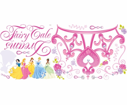 Disney Princess Crown Giant Peel & Stick Wall Decal