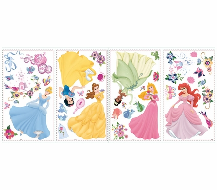 Disney Princess Peel & Stick Wall Decals