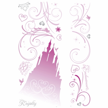 Disney Princess Scroll Castle Wall Decals