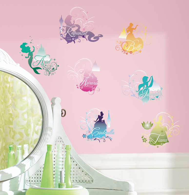 pics photos disney princess wall decals