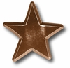 Distressed Star Chocolate Drawer Pull