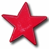 Distressed Star Red Drawer Pull