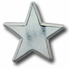 Distressed Star White Drawer Pull