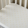 Ditsy Dot Dijon Yellow Crib Sheet