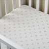 Ditsy Dot Grey Crib Sheet