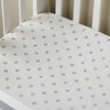 Ditsy Dot Indigo Crib Sheet
