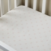 Ditsy Dot Petal Pink Crib Sheet