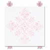 Diva Damask Pearl Pretty in Pink Canvas Reproduction