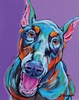 Doberman Dog Wall Art
