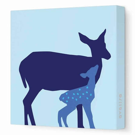 Doe Canvas Wall Art II
