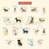 Dog Chart Mural Wall Decal