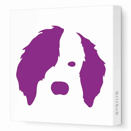 Dog Face Canvas Wall Art