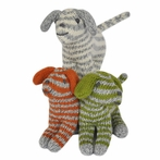 Dog Rattles - Set of Three