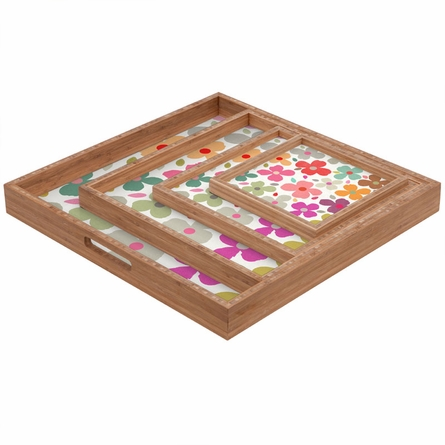Dogwood Multi Square Tray