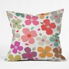 Dogwood Multi Throw Pillow