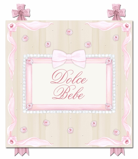 Dolce Bebe Couture Canvas Reproduction