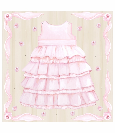 Dolce Bebe Dress Canvas Reproduction