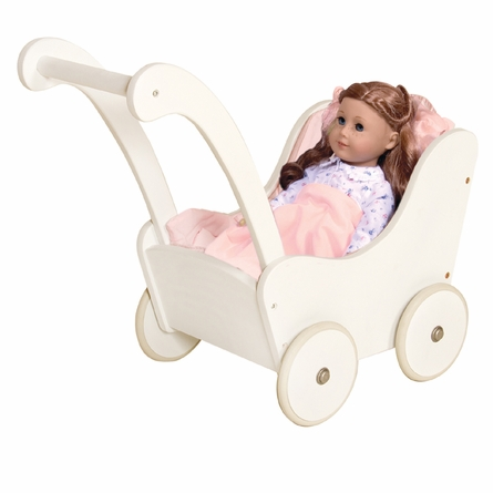 Doll Buggy - White
