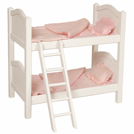 Doll Bunk Bed - White