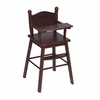 Doll High Chair - Espresso