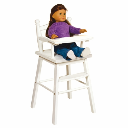 Doll High Chair White