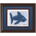 Dolphin Personalized Framed Canvas Reproduction