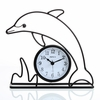 Dolphin Silhouette Wall and Table Clock