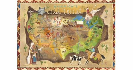 Adventure Placemats - Set Of Four