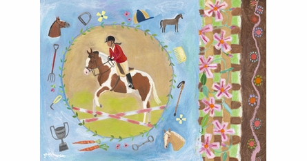 Equestrian Placemats - Set Of Four