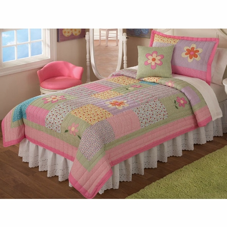 Dorinda Quilt with Pillow Sham