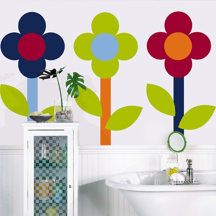 Dot Wall Decals - Choose Your Color