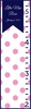 Dots Flag Girl Personalized Girl Growth Chart