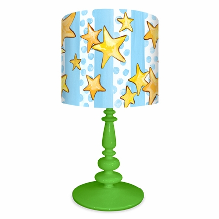 Dots & Stars with Prince Crown Lamp