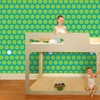 Dottiliscious Removable Wallpaper in Green Bubble