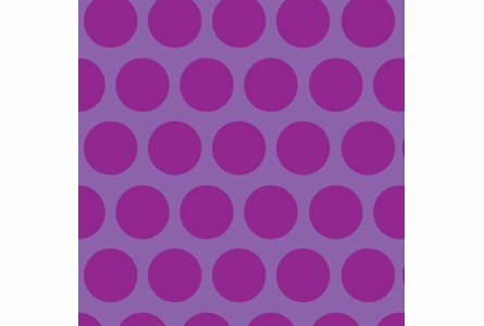 Dottiliscious Removable Wallpaper in Purple Bubble