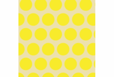 Dottiliscious Removable Wallpaper in Yellow Bubble