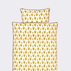 Dotty Yellow Kids Duvet Set
