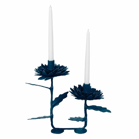 Double Dahlia Candle Stick