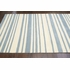 Douglas Striped Rug in Dusk