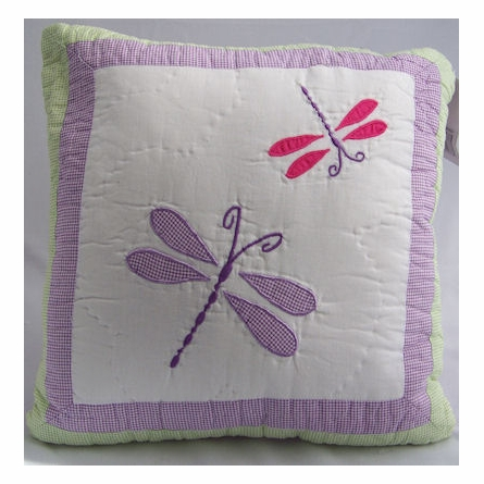 Dragonfly Butterfly Quilt with Pillow Sham