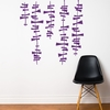 Drake in Purple Wall Decal