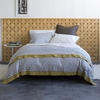 Draper Stripe Duvet Cover in Ash