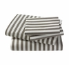 Draper Stripe Sheet Set in Ash
