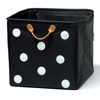 Drawer B Polka Dot Square Storage Bin