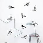 Drawing Birds Wall Stickers