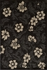 Dream Charcoal Floral Rug