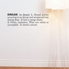 Dream in Charcoal Wall Decal